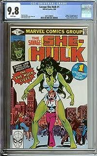 she hulk 1 cgc 9.8