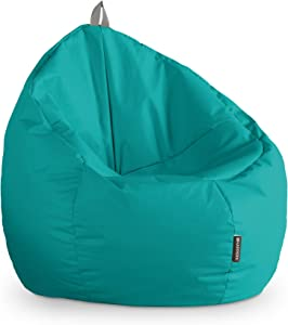 HAPPERS Puff Junior Polipiel Indoor Turquesa