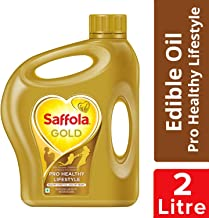 Saffola Gold, Pro Healthy Lifestyle Edible Oil, Jar, 2 L