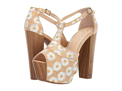 Jessica Simpson Dany (White 1) High Heels