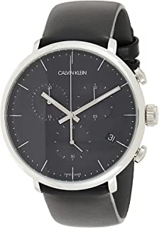 Calvin Klein High Noon K8M271C1 Leather Analog Casual Watch for Men