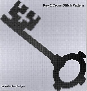 Key 2 Cross Stitch Pattern
