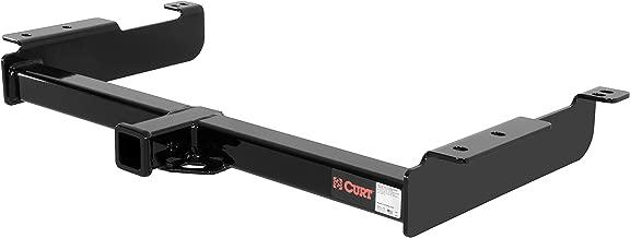 CURT 14090 Class 4 Trailer Hitch Black 2-Inch Receiver for Select Chevrolet Express, GMC Savana