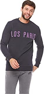 French Kick Sweatshirts For Men M, Navy