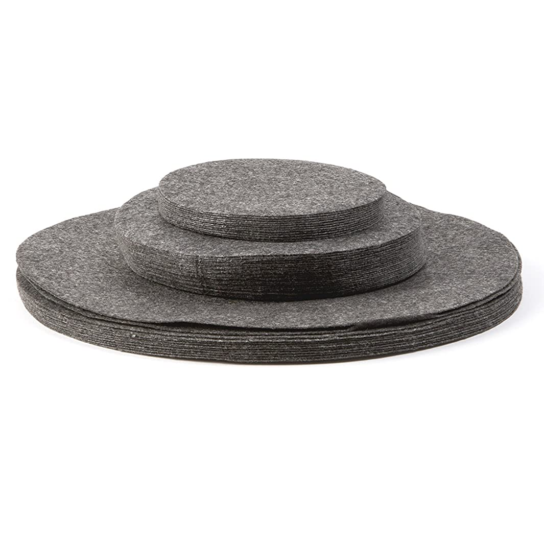 Richards Homewares Felt Plate Separators - Gray