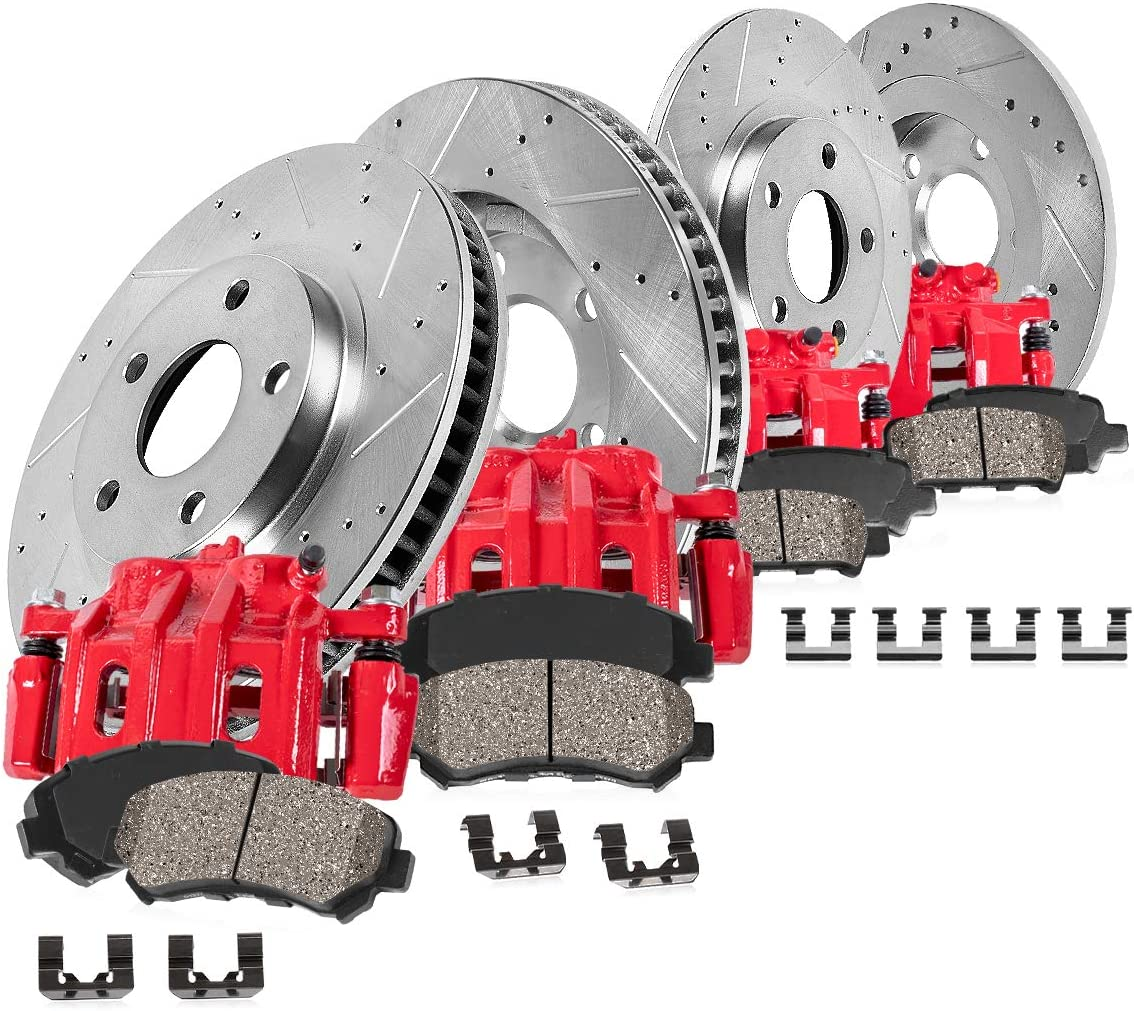 Callahan CCK06701 4 FRONT + Brake REAR Performance Calipers Ranking TOP11 Recommended