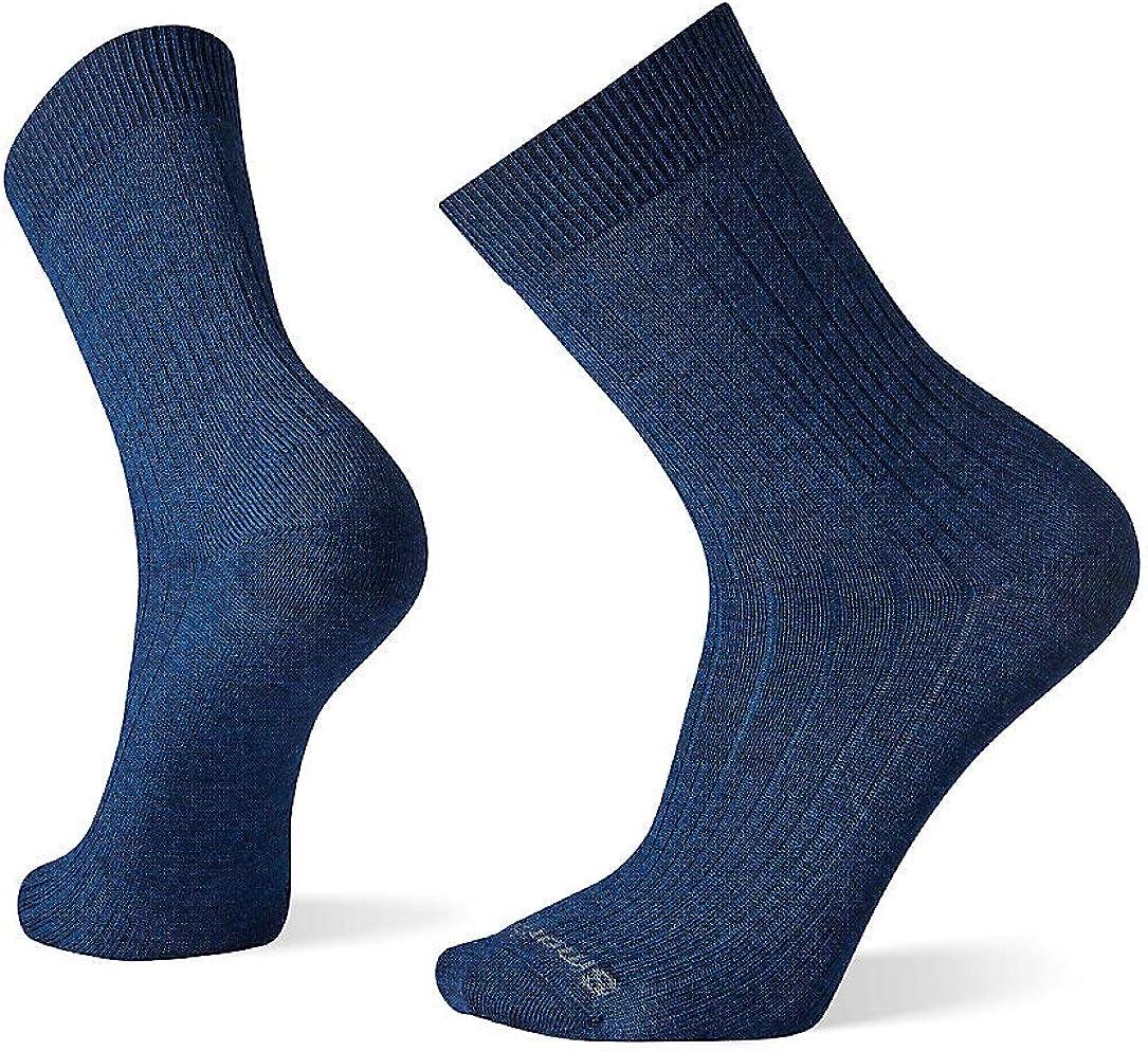 Smartwool Men's New Basic Rib Crew Merino Wool Socks
