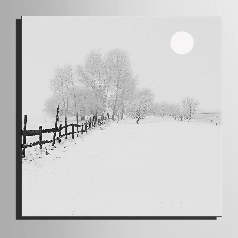 LTQ&QING new-Leinwand-Kunst Schnee bedeckte bedeckte bedeckte Baum-Dekoration-Malerei, rahmenlose Malerei, 60601 B07CSNBZYD | Trendy  86b18e
