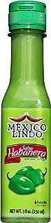 MEXICO LINDO SALSA HABANERA VERDE( Green habanero Hot Sauce), 5 fl.oz (150ml)
