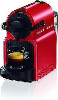 Krups Nespresso Inissia XN1005 - Cafetera monodosis de cápsulas Nespresso 19 bares apagado automático color rojo Pack ...