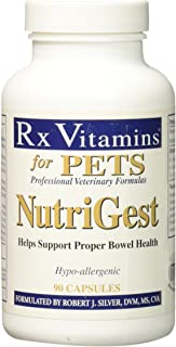 Rx Vitamins for Pets Nutrigest for Dogs & Cats - Helps Support Proper Bowel & Digestive Health - Veterinarian Formulated P...
