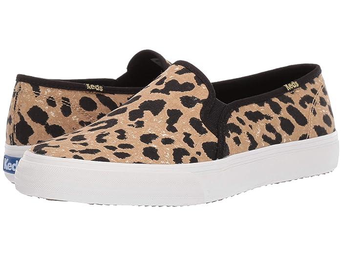 Keds  Double Decker Leopard (Tan) Womens Shoes