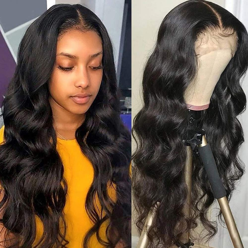 30inch Lace Closure Wig Body Sale item Front Hair Human OFFicial site 4x4 Wave