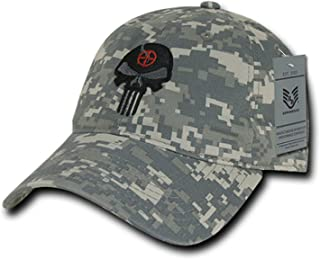 8da213f7 BHFC ACU Camo Camouflage Punisher Skull Military Navy Seal Special Forces  Relaxed Polo Baseball Hat Cap