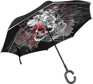 nouvelle arrivee 24ab3 aac17 Amazon.fr : tete mort - Parapluies / Accessoires : Bagages