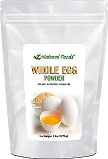 Powdered Eggs - Whole Egg Powder, White & Yolk - Raised & Dehydrated in USA - Great Dried Food For Emergency / Survival Storage & Supply - Keto & Paleo Friendly - Non GMO, Gluten Free, Kosher (5 lb)