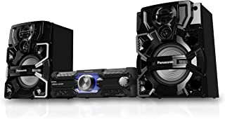 Panasonic Mini Hi-Fi System with Bluetooth, DJ, Jukebox App & Karaoke Features (SC-AKX710GSK)