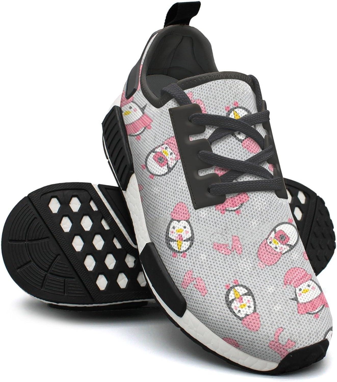 Cute Penguins Tennis Gym Lightweight Running shoes Women NMD