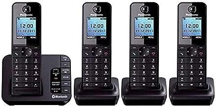 Panasonic KX-TGH264EB - Link to Mobile - Cordless Quad Dect Phone - Nuisance Block