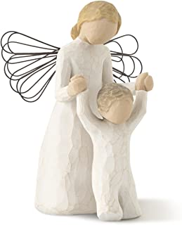 Willow Tree Guardian Angel, sculpted hand-painted figure