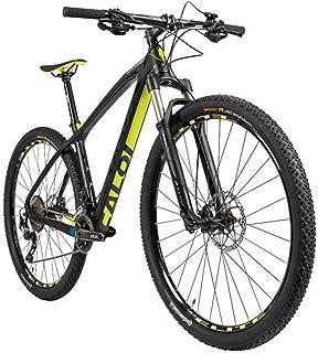 Bicicleta Elite Carbon Sport Pto/Amarelo Tm 19 - CALOI