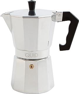 Quid Cesena - Cafetera de Aluminio, 9 Tazas