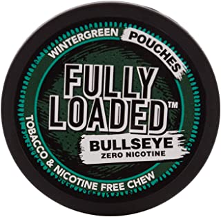Fully Loaded Chew - Wintergreen Pouches - Tobacco and Nicotine Free Flavored Chew
