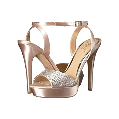 Jewel Badgley Mischka Milena (Champagne) Women