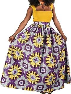 Women Dresses Gonna Pieghettata Pieghettata Sottile di Stampa Digitale A Vita Alta dei Modelli di Esplosione, Gonna di Ven...