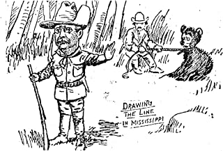 Teddy Bear Cartoon 1902 NDrawing The Line In Mississippi The Invention Of The Teddy Bear By Clifford Berryman In 1902 Inspired By Theodore RooseveltS Refusal To Shoot A Cub During A Mississippi Bear H
