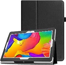 Fintie Custodia Cover per BEISTA 10, YOTOPT 10.1, Yuntab K107/ K17, Tagital 10.1, KEN tablet 10, PENG tablet 10, Joyo tablet 10, Artizlee ATL-21T / ATL-21X / ATL-31 tablet 10, Nero