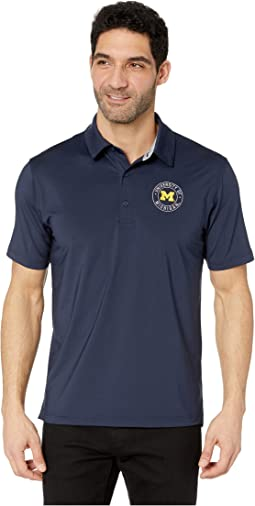 Michigan Wolverines Solid Polo