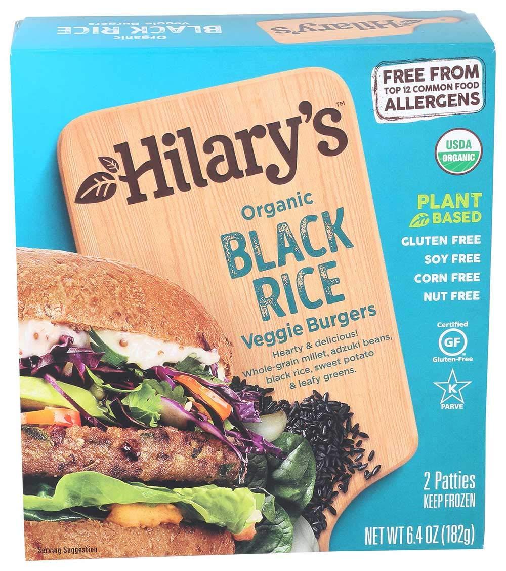 Hilarys Black Rice outlet Veggie Burger 6.4 -- Ounce per case. 2021 model 12