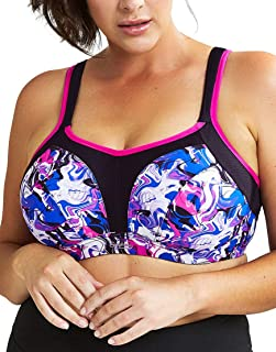 Panache Women's Plus-Size Non-Padded High-Impact Underwire Sports Bra (#9441)