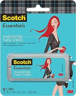 Best scotch essentials wardrobe tape strips Reviews