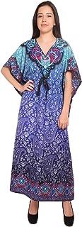 RADANYA Womens Loose Kaftan Beachwear Swimwear Bikini Cover-Up Beach Dress