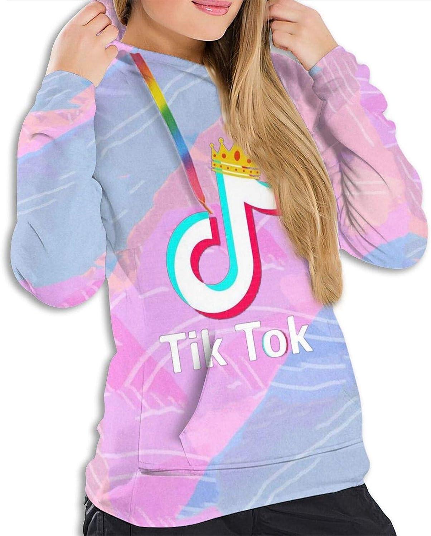 TIK TOK Fashion Sweatshirt Trend Stripe Long Sleeves Unisex Hoodie Sweater