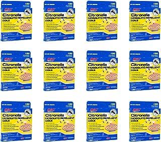 PIC Citronella Mosquito Repellent Coils (12 Packs of 4) CIT-COIL-4