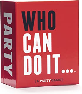Who Can Do It [A Party Game]