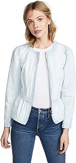 Rebecca Taylor Women's Denim Peplum Jacket