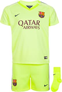 Nike Barcelona Third Toddler MINI-Kit 2014-15