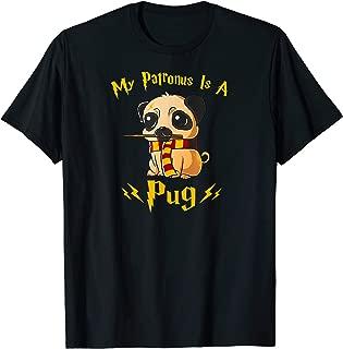 Harry Pugger Tee Pawter Cute Puppy Dogs Potter Pups T-Shirt