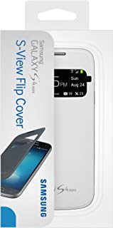 Samsung Galaxy S4 Mini Case S View Flip Cover Folio - White (Discontinued by Manufacturer)