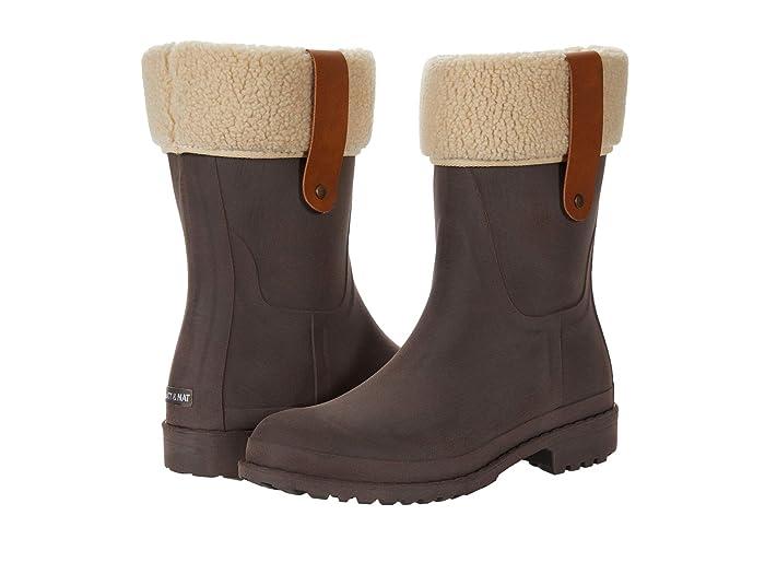 Vintage Boots- Winter Rain and Snow Boots History Matt  Nat Maria Chocolate Womens Boots $91.00 AT vintagedancer.com