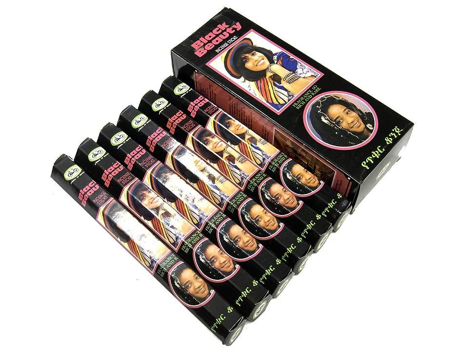 ファン何でも各CYCLE(サイクル) ブラックビューティー香 スティック BLACK BEAUTY 6箱セット