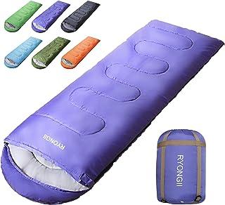 RYONGII Cool Weather Sleeping Bag for Adults Teens - 4...