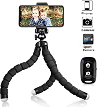 UBeesize Tripod S, Premium Phone Tripod, Flexible Tripod with Wireless Remote Shutter,..
