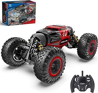 BEZGAR 15 Toy Grade1:14 Scale Remote Control Crawler, 4WD Transform 15 Km/h All Terrains Electric...