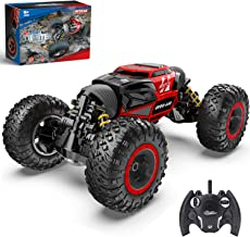 BEZGAR 15 Toy Grade1:14 Scale Remote Control Crawler, 4WD Transform 15 Km/h All Terrains Electric Toy Stunt Cars RC Monste...