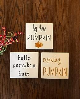 Best morning pumpkin sign Reviews